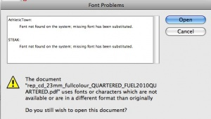 Not all Fonts are created equal - OUTLINE them !