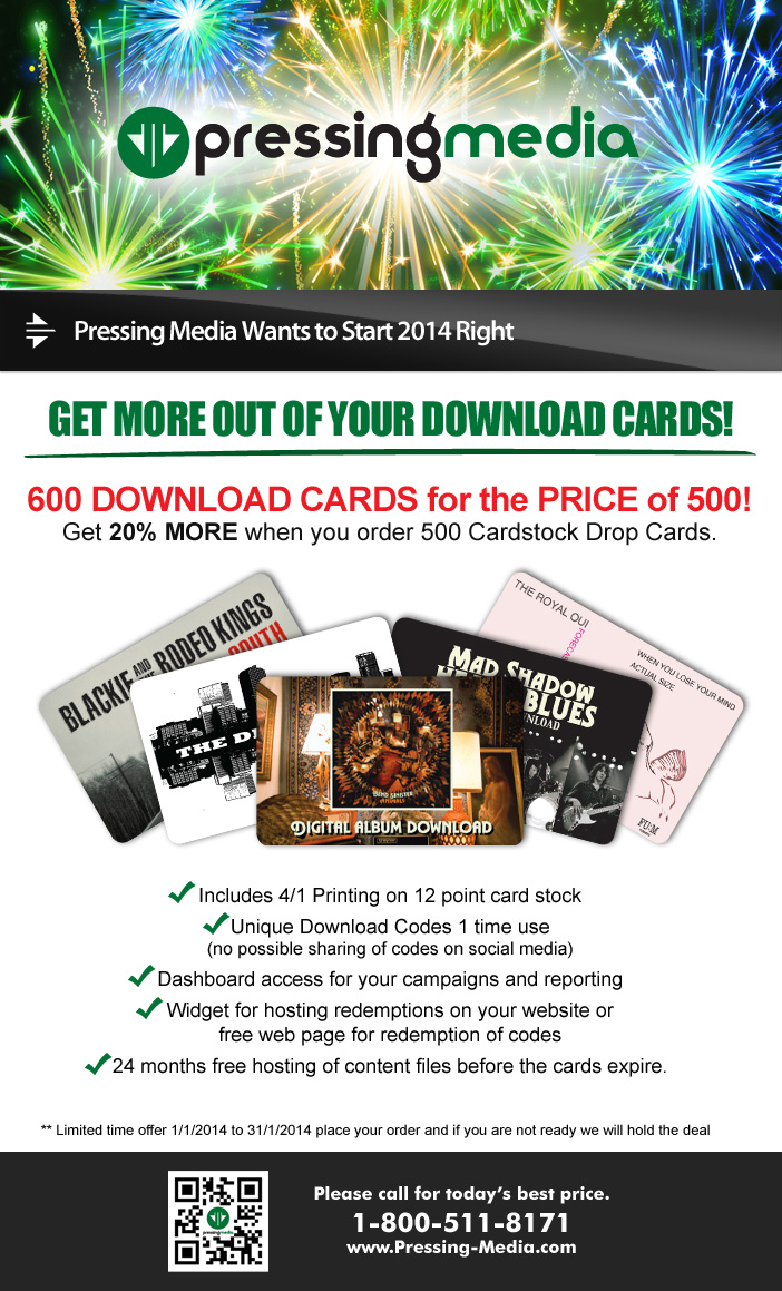 Custom Dropcards for your audiom, video or book project!